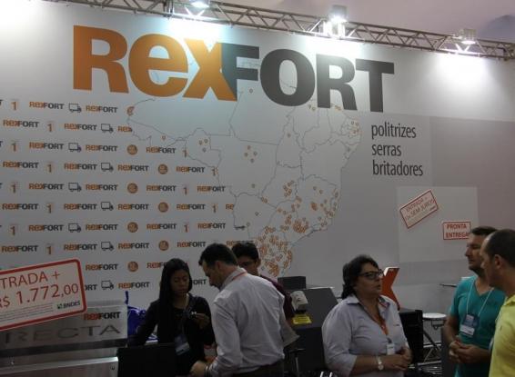 REXFORT destaca sucesso da participação na Vitória Stone Fair