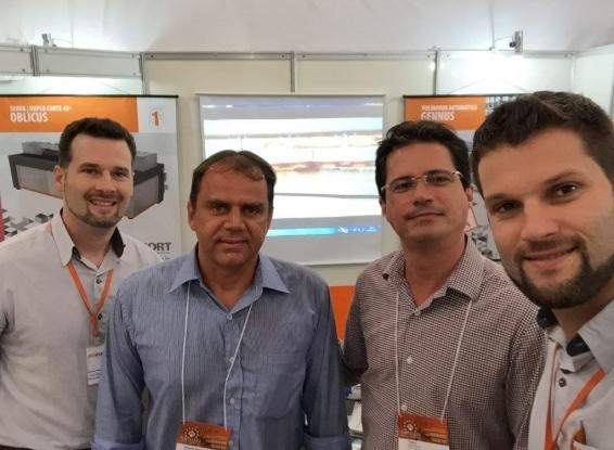 REXFORT comemora prospecção de mercado na Fortaleza Brasil Stone Fair