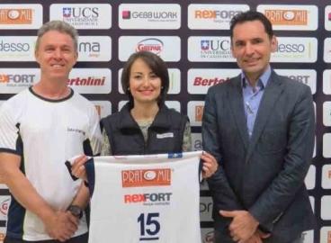 REXFORT incentiva esporte com apoio ao Bento Vôlei